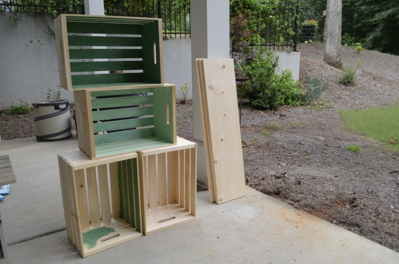 build wood crate
