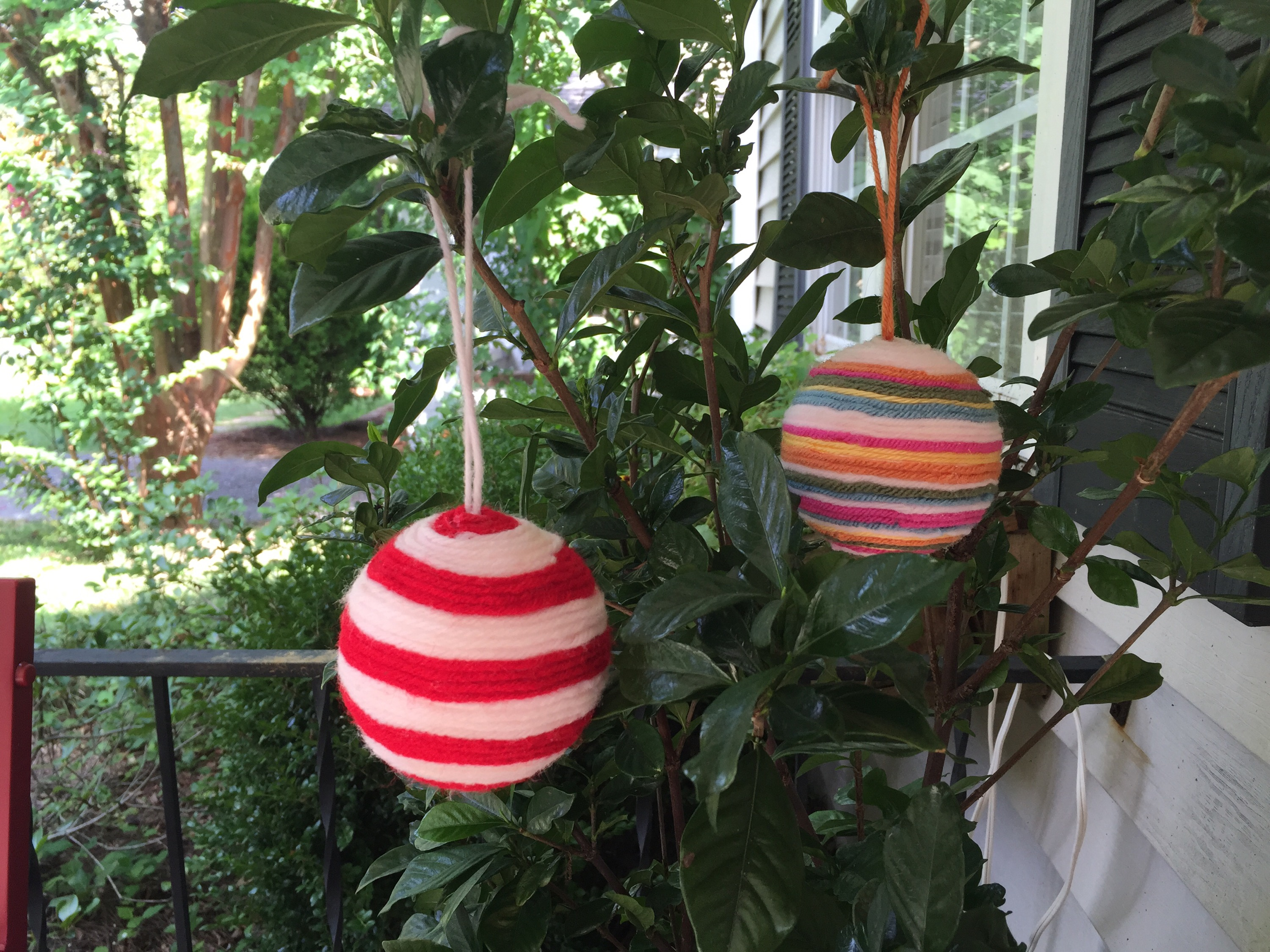 Styrofoam christmas ornaments - I Had All Of The Materials To Make This Project Because I Had Purchased The Styrofoam Balls Last December Alas You Can Only Do So Many Christmas Crafts